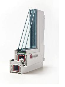 ПВХ-профиль Rehau для изготовления пластиковых окон